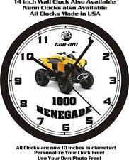 2015 CAN-AM 1000 RENEGADE ATV WALL CLOCK-FREE USA SHIP!