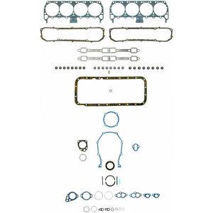 Chrysler 440 Fel Pro Full Gasket Set Head+Valve Cover+Oil Pan+Valley pan 1966-80