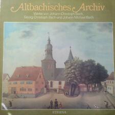 Altbayrisches Archiv - Bach - Eterna -  LP Vinyl