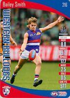 ✺New✺ 2020 WESTERN BULLDOGS AFL Card BAILEY SMITH Teamcoach