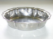 Beautiful Vintage Round Stainless Steel Italy Bowl