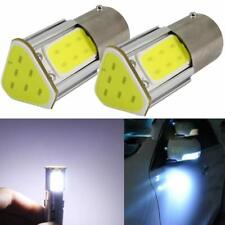 2x ampoule LED BA15S 1156 P21W COB BLANC Voiture Feux de Jour Recul