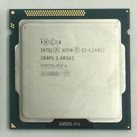 Intel Xeon E3-1240V2 3.4GHz Quad-Core 8M Processor LGA1155 H2 Non-GPU CPU