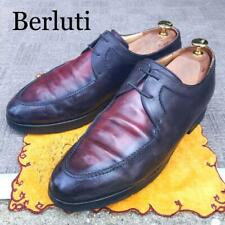 Berluti Approximately 27.0Cm Business Shoes Leather Red Black Men 9.0Us