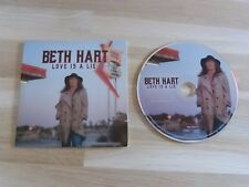 BETH HART - Love is a lie - CD 1 TITRE !!! promo !!!