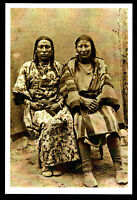 ⫸ 986 Postcard, Squaw Jim & Squaw, Crow, American Indian Berdache - NEW