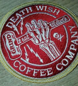 Death Wish Coffee Grind It Out Patch