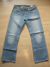 Diesel Herren Jeans Levan Wash OR8AQ 32-32 denim blau Vintage Used Look