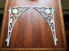 Art Deco Decorative Metal Wall Brackets-Set of 2
