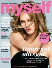 Myself Magazine German November 2014, Vanessa Paradis NEW