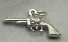 3D STERLING SILVER COLT REVOLVER CHARM