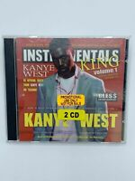 Rare KANYE WEST Instrumentals Vol.1- 60 EARLY BEATS FULL TRACKS 2xCD NOT MIXTAPE