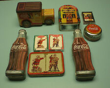 COCA COLA COKE TINS - PLAYING CARDS COLLECTION