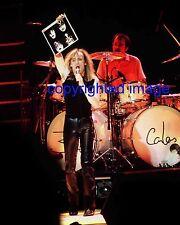 Cheap Trick Robin Zander Feb 1, 1981 Granada Theatre Kiss Chicago Color 8x10 A