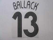 Ballack no 13 Chelsea Champions League Football Shirt Name Set Kids Youth