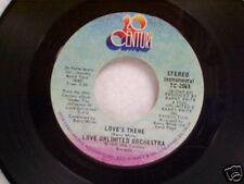 "LOVE UNLIMITED ORCHESTRA ""LOVE'S THEME / SWEET MOMENTS"" 45 NEAR MINT"