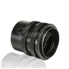Metal M42 Macro Extension Tube Camera Lens Adapter 42mm Screw Mount 3-Ring