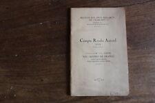 CHARLIEU - compte-rendu annuel 1938 de la société des amis des arts