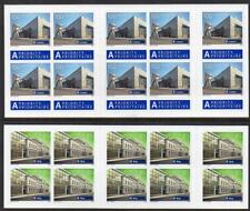 SWITZERLAND 2016 Railway Stations Booklets, Complete, Unfolded