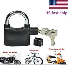 Pro Siren Alarm Lock Anti-Theft Security System Motor Bike Bicycle Padlock 110dB