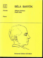 BELA BARTOK : Allegro barbaro - piano solo