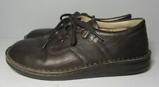 Finn Comfort Germany Vaasa Brown Leather Lace Up Shoes Size 38