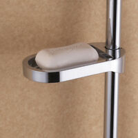 Plastic Shower Rail Soap Box Soap Holder Shower Rod For Sliding Bar Sale