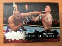TOPPS UFC 2009 ROUND TWO GEORGE ST-PIERRE BASE CARD #100