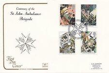 (97336) Clearance Gb Cotswold Fdc St John Ambulance Exhibition London June 1987
