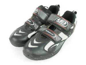 LG Louis Garneau ER Go Grip Cycling Shoes Men's Size 13 Easy Fasten Straps Black