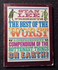 1979 Best Of The Worst by Stan Lee Vg- 3.5 Sc 1st Harper & Row