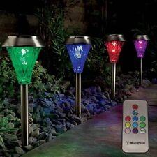 Autres éclairages et lampes solaires acier inoxydable