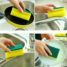 5Pcs Useful Cleaning Sponge Brush Wash Bowl Dishes Washing Kitchen Home Tool