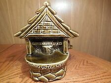 Vintage Wishing You Well USA Pottery Planter #200 Green Ceramic Planter