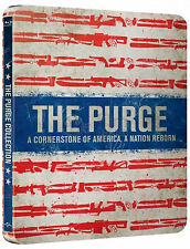 The Purge + The Purge: Anarchy - Limited Edition Steelbook (2xBlu-ray) NEU&OVP!