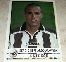 FIGURINA CALCIATORI PANINI 2001-02 UDINESE ALMIRON ALBUM 2002