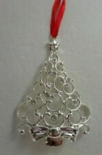 Lenox Sparkle And Scroll Christmas Tree Ornament Clear Crystal 851309 (Tree)