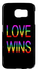 Gay Lesbian LGBT Rainbow Pride Love Rubber Case Cover For Samsung Galaxy Note 5