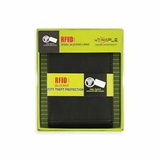 RFID SIGNAL BLOCKING ID BIFOLD WALLET WITH MONEY CLIP