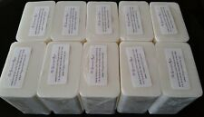 10 lb RAW COCOA BUTTER MELT And POUR Glycerin Soap 100% Natural BULK Wholesale