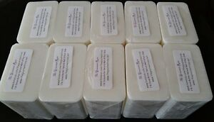 10 lb RAW SHEA BUTTER MELT And POUR Glycerin Soap 100% Natural BULK Wholesale