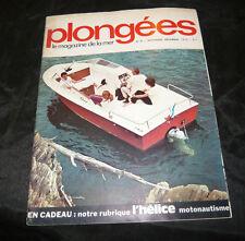 Plongées Le Magazine De La Mer N° 67 la plongée marine
