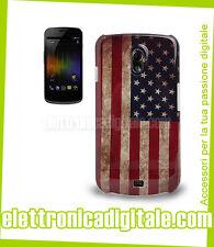 Samsung GALAXY NEXUS i9250 CUSTODIA Cover Rigida BANDIERA Flag USA Stati Uniti