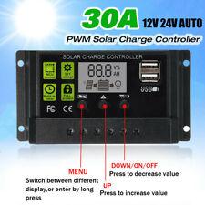 30a 12v 24v cargador solar regulador solar regulador solar panel Controller regulator