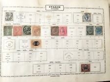 LOT 31 Timbres ITALIE 1862 - 1893 ITALIA Stamps 19thC
