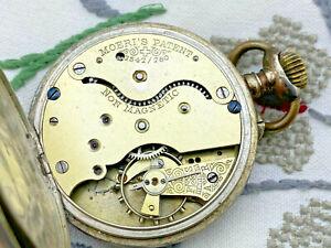 alte silberne Taschenuhr *gut erhalten und läuft *