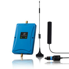Cell 850/2100MHz Phone 45dB Signal 3G 4G Booster Data Repeater Kit Car Truck RV