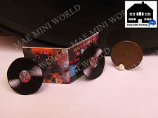 Iron Maiden Double Record Album miniature reproduction. 1/12th scale