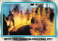 1980 Topps Star Wars #203 Into The Carbon Freezing Pit! > Han Solo > Leia > B