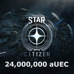 Star Citizen 24,000,000 aUEC (Alpha UEC)